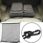 Оригинал Универсальный Авто Доставка багажник Tidy Net Boot Storage Органайзер Багаж Сумка внедорожник