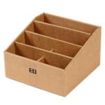 Оригинал Пульт дистанционного управления Разное Хранение деталей Коробка Creative Paper Desktop Канцтовары Ручка Хранение файлов Коробка