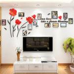 Оригинал 3D Акриловая Семейная Фоторамка Стикер Стены Искусства Фон Home Decor