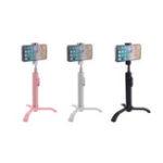 Оригинал 2 в 1 выдвижная Bluetooth Дистанционное Управление Selfie Палка монопод Штатив для смартфонов Спорт
