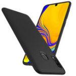 Оригинал BakeeyCarbonFiberProtectiveЧехолДля Samsung Galaxy A40 2019 Ударопрочный Soft ТПУ Задняя крышка