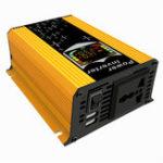 Оригинал  12V-110V / 220V Дисплей Инвертор 450W Инвертор Авто Модифицированный Синусоидальный Преобразователь Солнечная Инвертор Зарядное Устройство