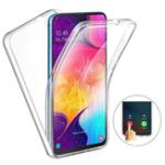 Оригинал Полноетелопрозрачныйсенсорныйэкранзащитный Чехол для Galaxy A50 Samsung