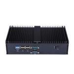 Оригинал QOTOMMiniPcIntelI3-6100U2.3 ГГц Двухъядерный Barebone 6 Gigabit Ethernet Machine Микро-промышленный Q530X мультисеть