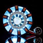 Оригинал MK2 Акрил Дистанционный Вер. Tony ARC Reactor Model DIY Набор USB-сундук Лампа Дистанционное Управление Осветительный прибор LED Flash Набор света