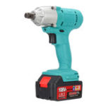 Оригинал 108VF 12800mA Lithium-Ion Battery Cordless Electric Wrench Drill Driver Kit