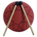 Оригинал Mebite 5 дюймов Музыкальный барабан с барабаном Ethereal Drum Steel Prumue с барабаном Палка Carry Сумка