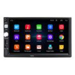 Оригинал 7 дюймов 2 Din HD Авто Радио MP5-плеер с сенсорным экраном GPS Поддержка Bluetooth сзади камера с Дистанционное Управление