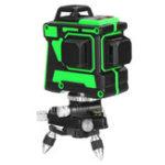 Оригинал 12 Lines Green 3D Лазер Уровень Авто 360 ° Степень Водонепроницаемы Самовыравнивающаяся мера