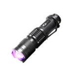 Оригинал SHENYUSY1003AA/14500Фонарик UV 395nm LED Фиолетовый Фиолетовый Свет Обнаружение Флуоресцентный Деньги Многофункциональный Лампа Для Кемпинг Охот