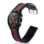 Оригинал BakeeyQuickFit22mmЗаменаНатуральнаяКожа и Nylon часов Стандарты Ремешок для Huawei часов GT Smart Watch