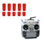 Оригинал 10 ШТ. LDARC Резиновые Противоскользящие Палка Крышка Переключателя для Frsky X9D Plus Flysky Передатчик JR Радио