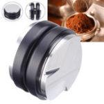 Оригинал Двухголовочная регулируемая кофемолка из нержавеющей стали с плоским основанием с тремя углами