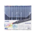 Оригинал STA 3203 Маркер Black Rod White Rod Гель Ручка Стандартный набор 12 24 36 48 60 Коробка Ручная роспись Дизайн