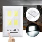 Оригинал 36 LED COB Беспроводной ночной свет 5 передач с регулировкой яркости под светом шкаф крыльцо кухня