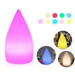 Оригинал Аккумуляторная Colorful LED WiFi APP Ночной свет Смарт Форма капли воды Таблица Лампа Совместимо с Alexa Google Home