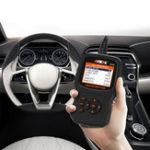 Оригинал Ancel EU510 OBD2 Automotive OBD Car Diagnostic Scanner Tool Battery Tester
