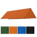 Оригинал 300x300cmНаоткрытомвоздухеКемпингПалатка Зонт от солнца Rain Sun UV Пляжный Навес для навеса с навесом Пляжный Коврик для пикника с заземлен