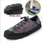 Оригинал NISновинкаскладныекроссовкиунисексвесна лето холст повседневная обувь складные молнии кроссовки