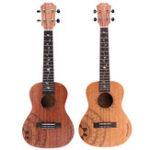 Оригинал Том 23/26 дюймов Стандарт C / T Тип Красного дерева матовая гавайская гитара с концертом Сумка