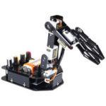 Оригинал SunFounder Rollarm Robot Модернизированный DIY Arduino Программируемый RC Робот-манипулятор Набор с сервоприводами