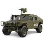 Оригинал HGP4081/102.4G4WD16CH 30 км / ч Rc Модель Авто US4X4 Военный Автомобиль Грузовик без зарядного устройства Батарея