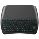 Оригинал OEM D8 Pro Plus i8 Mini Wireless Клавиатура Английская русская версия с сенсорной панелью 2,4 ГГц 7 RGB подсветка для Android Smart TV PC Xbox