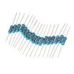 Оригинал 300 шт. 1% 1 Вт 10 Ом-1 М Ом Металлическая Пленка Резистор Ассорти Набор 30 Значений Каждый 10 шт.