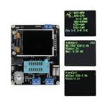 Оригинал GM328A LCD Транзистор Тестер Диод ЭПР Метр PWM Квадратный Волна Генератор Паяный Модуль