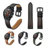 Оригинал Bakeey22mmЗаменаНатуральнаяКожаЧасы с вентиляционным отверстием Стандарты Ремешок для Huawei GT Smart Watch