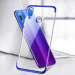 Оригинал Bakeey™ Plating Transparent Shockproof Soft TPU Back Cover Protective Case for Xiaomi Redmi 7