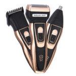 Оригинал 3 в 1 электрическая 3D бритва борода Триммер аккумуляторная Бритва