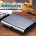 Оригинал HYSTOUM1Мини-ПКIntelядроi7-6700HQ 8 ГБ + 128 ГБ 8 ГБ + 256 ГБ NVIDIA GTX 960M Win10 с вентилятором Тип-C S / PDIF 5G Wifi Bluetooth 4.0 Выход HDMI DP HTPC Игровой ПК Компьютер