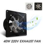 """Оригинал 40 Вт 6 """" Вытяжной вентилятор 6 """" Глушитель выхлопного газа, установленный на стене, с малошумной вентиляцией"""