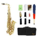 Оригинал SLADE LD-896 E-flat латунная труба саксофон с Сумка чистым Набор