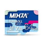 Оригинал MIXZA 64G C10 Профессиональная высокоскоростная карта памяти для мобильного телефона Видеорегистратор IP Sport камера