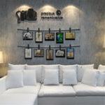 Оригинал 3DFamilyCrystalФоторамкаКартинкиСтены Коллаж Стикера Этикеты Home Decor