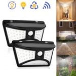 Оригинал Solar Power 68 LED Настенный светильник PIR Motion Датчик Водонепроницаемы На открытом воздухе Сад Двор безопасности Лампа