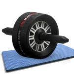 Оригинал KaloadКолесодлябрюшногопрессаРолик Противоскользящая износостойкость Mute Sports Фитнес Ягодицы Тренажер для мышц спины