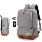 Оригинал Xiaomi Рюкзак USB Зарядка Рюкзаки Мужское Плечо Сумка Ноутбук Сумка Повседневная Путешествия Рюкзак Колледж Сумка