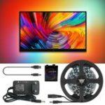 Оригинал Ambilight 2M / 3M / 4M / 5M WS2812B 5050 RGB Dream Color USB APP LED Полоска для экрана настольного ПК