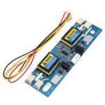 Оригинал 4 Лампа Универсальный инвертор CCFL 10В-30В Выход для 15-24 дюймов LCD Дисплей Монитор С 4 шнурами