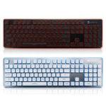 Оригинал LT600 104Key Wireless Бесшумный Gaming Клавиатура и Мышь Combo с панелью Мышь