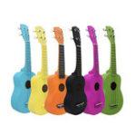 Оригинал  IRIN 21 дюймов 4 струны Basswood Multicolor Ukulele Музыкальный инструмент для начинающих
