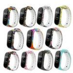 Оригинал BakeeyPaintedШаблонЗаменаСиликоновыйЧасы Стандарты Ремешок для Xiaomi Стандарты 4 & 3 Smart Watch Стандарты