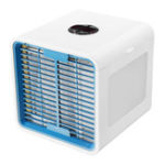 Оригинал Дисплей Персональный воздушный кулер Портативный USB 3 в 1 Очистка для увлажнения воздуха в холодильнике LED Настольный вентилятор Ультра-тих