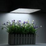 Оригинал 225LED Grow Light White Лампа Ультратонкая панель Гидропоника для помещений Растение Овощной цветок AC85-265V