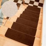 Оригинал 5Pcs / Set Нескользящая ковровая дорожка с ковриком и ступенькой