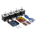 Оригинал TWO TREES® CNC Shield + плата UNO R3 + 4x A4988 Stepper Мотор Driver + 4x 4401 Stepper Мотор Набор для 3D-принтера
