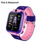 Оригинал Bakeey Q12 Водонепроницаемы Детские умные часы-телефон с фронтальной ориентацией камера SOS Call Зона безопасности Сигнализация